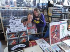 Come talk movies and comics with Ronn and Janet